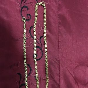 Other - Jewelry Matching chain and bracelet.
